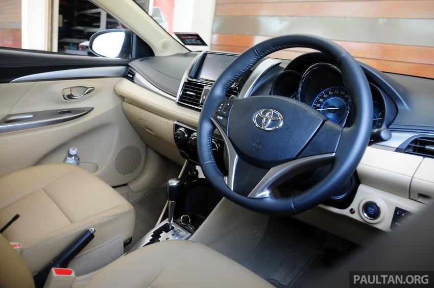 DRIVEN: 2013 Toyota Vios 1.5 G sampled in Putrajaya Image #202587
