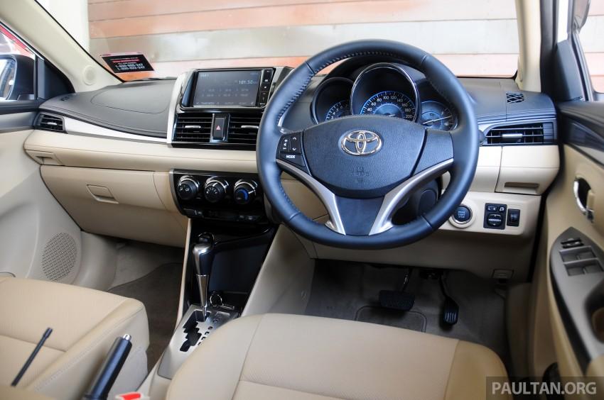 DRIVEN: 2013 Toyota Vios 1.5 G sampled in Putrajaya Image #202588