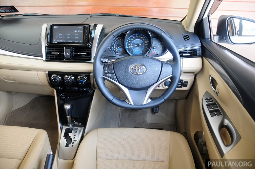 DRIVEN: 2013 Toyota Vios 1.5 G sampled in Putrajaya Image #202589