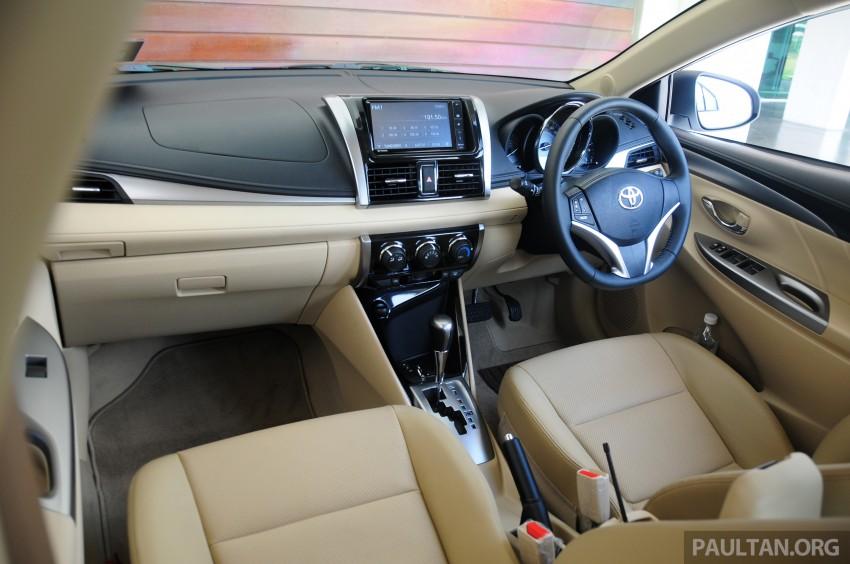 DRIVEN: 2013 Toyota Vios 1.5 G sampled in Putrajaya Image #202591