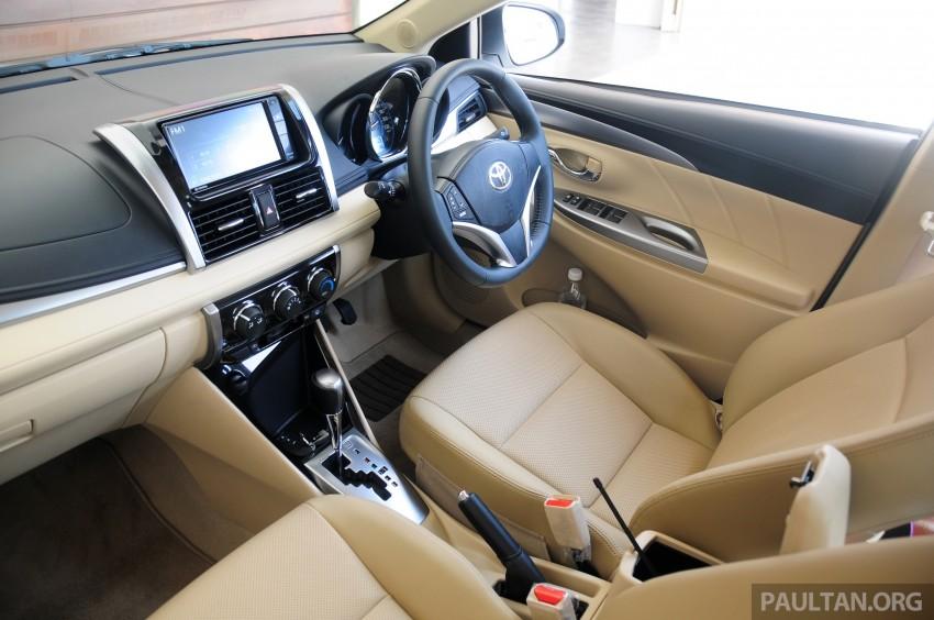 DRIVEN: 2013 Toyota Vios 1.5 G sampled in Putrajaya Image #202592