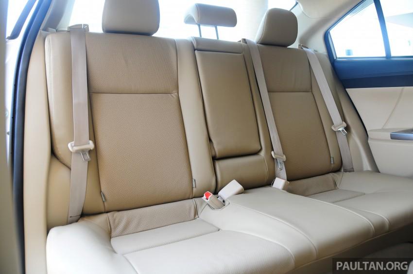 DRIVEN: 2013 Toyota Vios 1.5 G sampled in Putrajaya Image #202597
