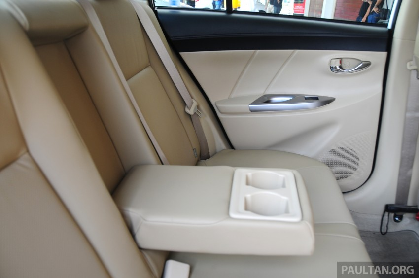 DRIVEN: 2013 Toyota Vios 1.5 G sampled in Putrajaya Image #202599