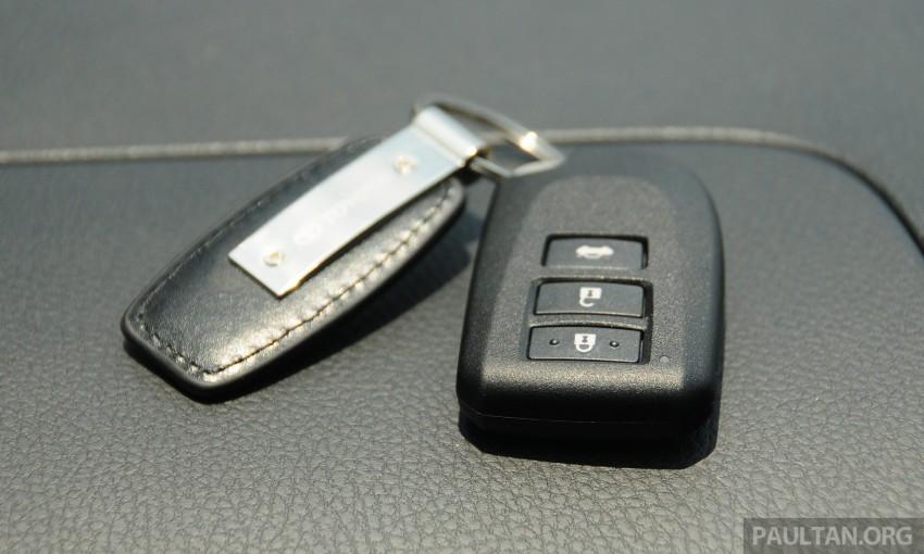 DRIVEN: 2013 Toyota Vios 1.5 G sampled in Putrajaya Image #202602
