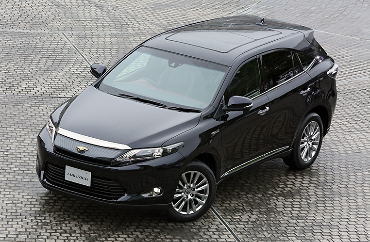2014 Toyota Harrier – new exterior and interior photos Image #204342