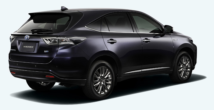 2014 Toyota Harrier – new exterior and interior photos Image #204345