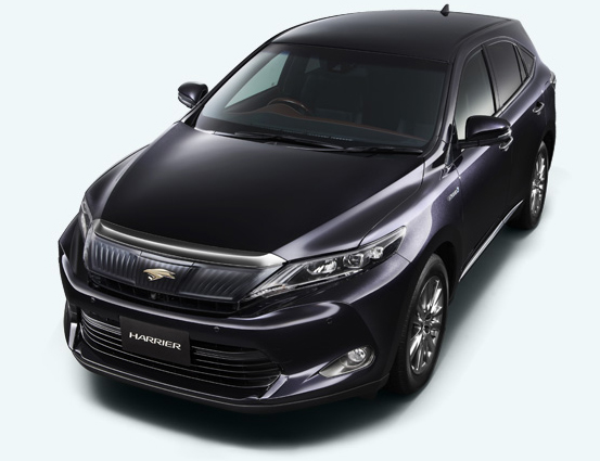 2014 Toyota Harrier – new exterior and interior photos Image #204346