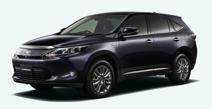 2014 Toyota Harrier – new exterior and interior photos Image #204347