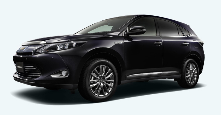 2014 Toyota Harrier – new exterior and interior photos Image #204348