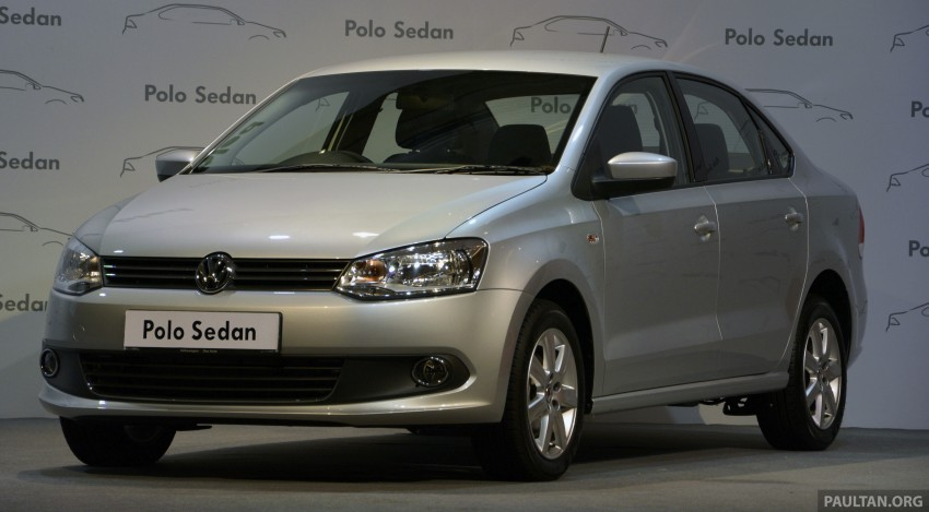 2014 Volkswagen Polo Sedan CKD launched – RM86k Image #207414