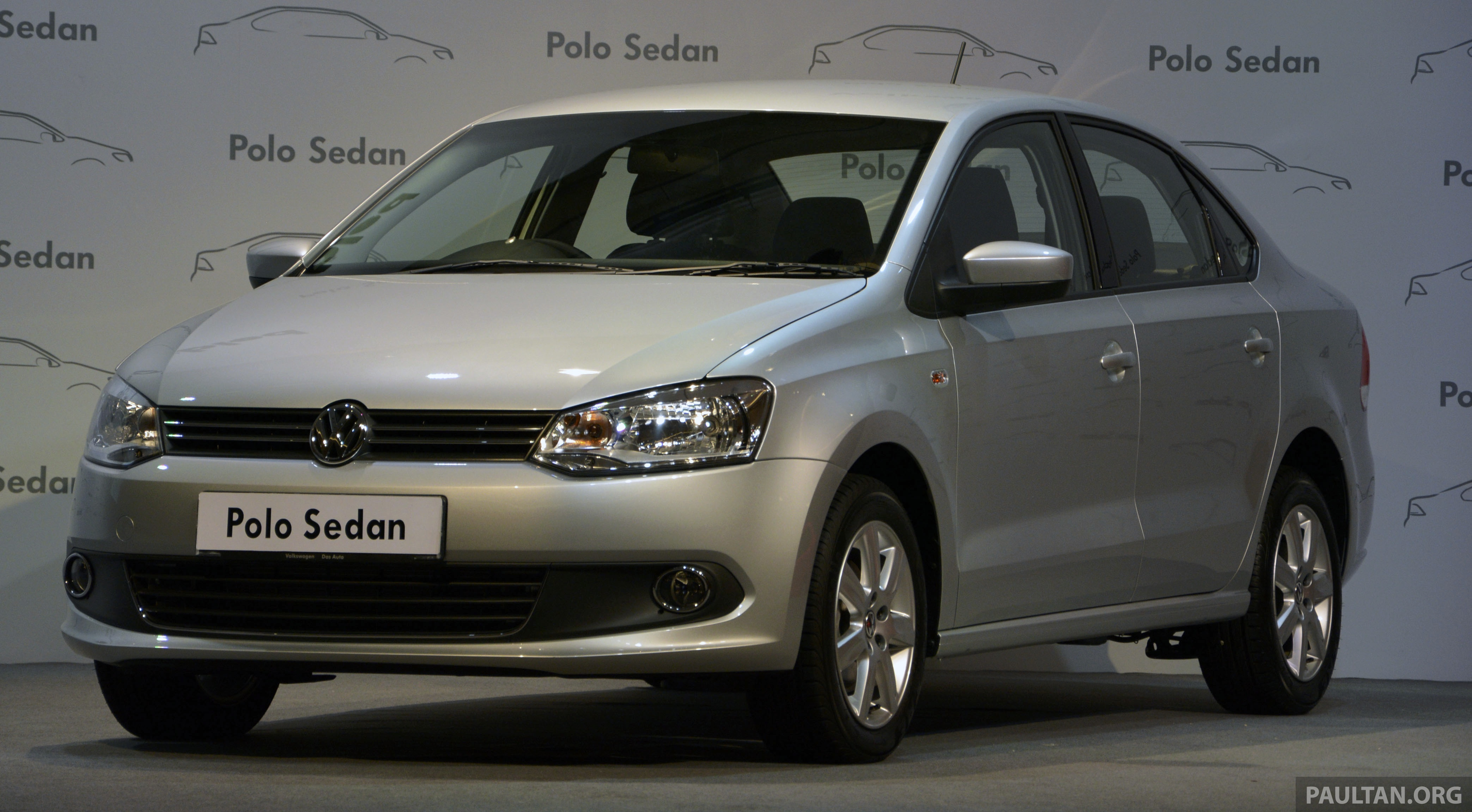 2014 Volkswagen Polo Sedan Ckd Launched Rm86k Image 207414