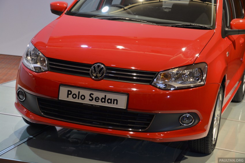 2014 Volkswagen Polo Sedan CKD launched – RM86k Image #207425