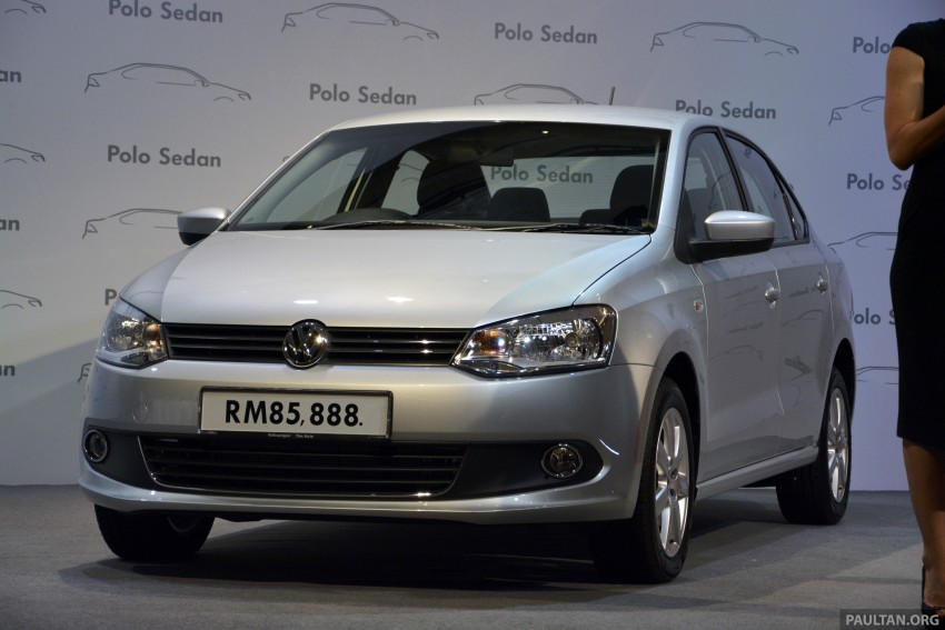 2014 Volkswagen Polo Sedan CKD launched – RM86k Image #207427