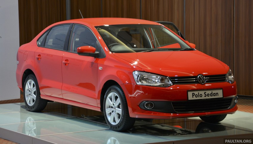 2014 Volkswagen Polo Sedan CKD launched – RM86k Image #207428