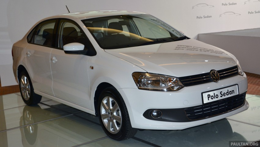 2014 Volkswagen Polo Sedan CKD launched – RM86k Image #207429