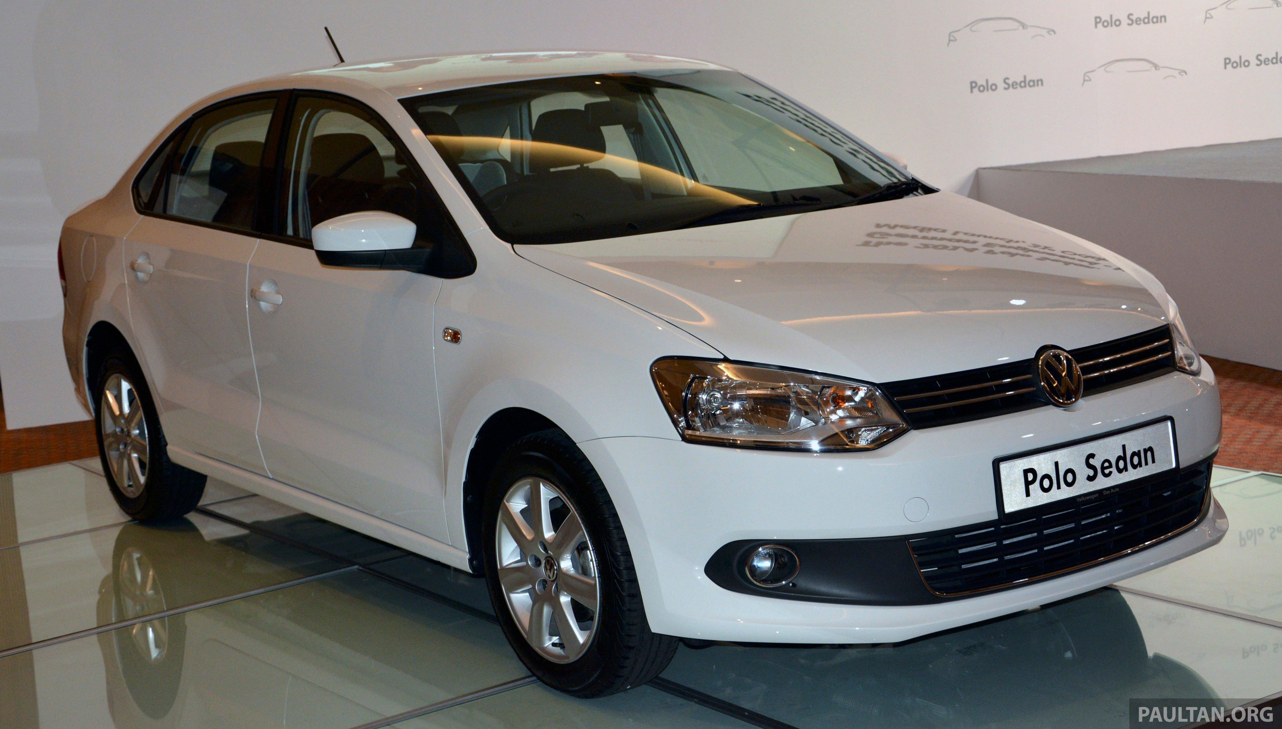 2014 Volkswagen Polo Sedan Ckd Launched Rm86k Paul Tan
