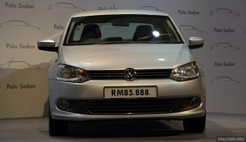 2014 Volkswagen Polo Sedan CKD launched – RM86k Image #207430