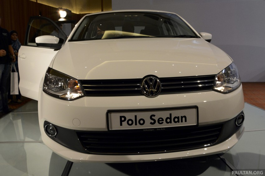 2014 Volkswagen Polo Sedan CKD launched – RM86k Image #207431