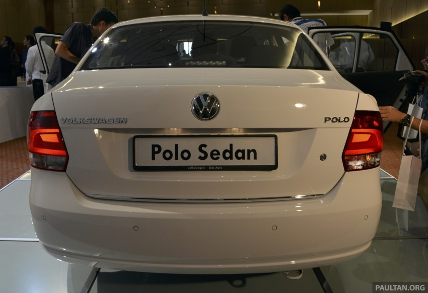 2014 Volkswagen Polo Sedan CKD launched – RM86k Image #207432