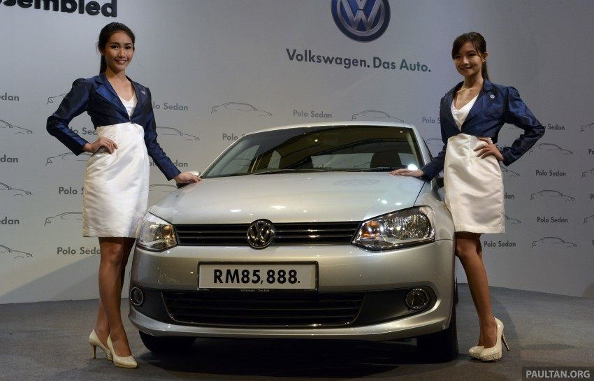 2014 Volkswagen Polo Sedan CKD launched – RM86k Image #207438