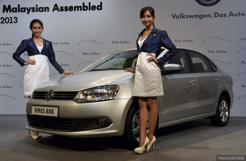 2014 Volkswagen Polo Sedan CKD launched – RM86k Image #207439