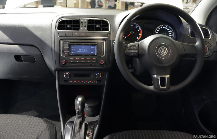 2014 Volkswagen Polo Sedan CKD launched – RM86k Image #207440