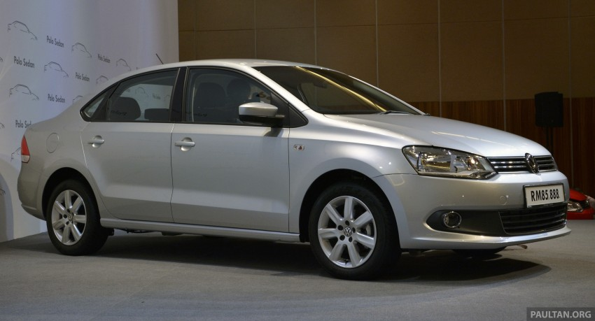 2014 Volkswagen Polo Sedan CKD launched – RM86k Image #207442