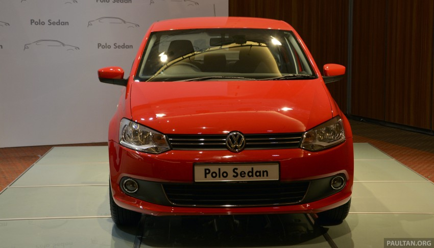 2014 Volkswagen Polo Sedan CKD launched – RM86k Image #207416