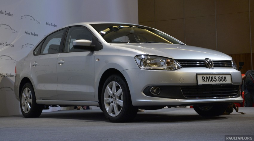 2014 Volkswagen Polo Sedan CKD launched – RM86k Image #207443
