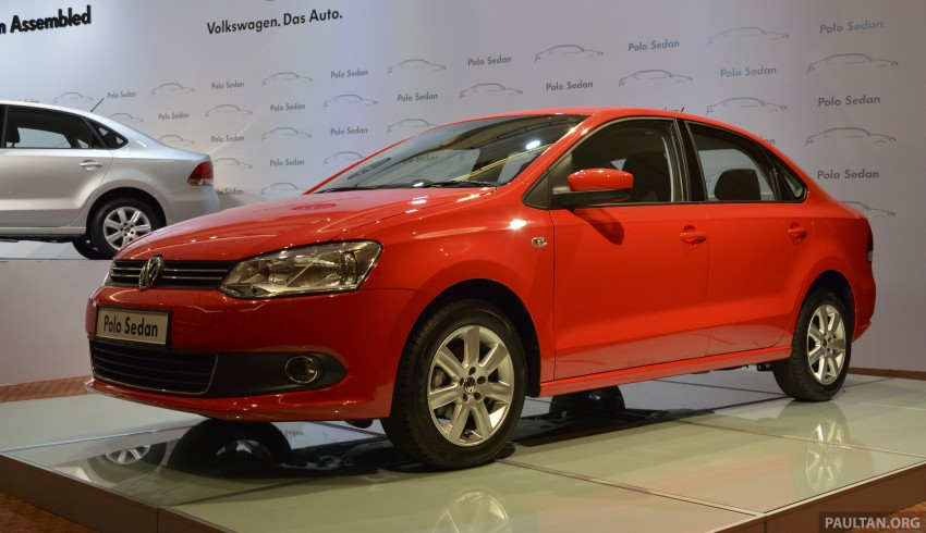 2014 Volkswagen Polo Sedan CKD launched – RM86k Image #207418