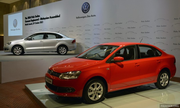 2014 Volkswagen Polo Sedan CKD 6