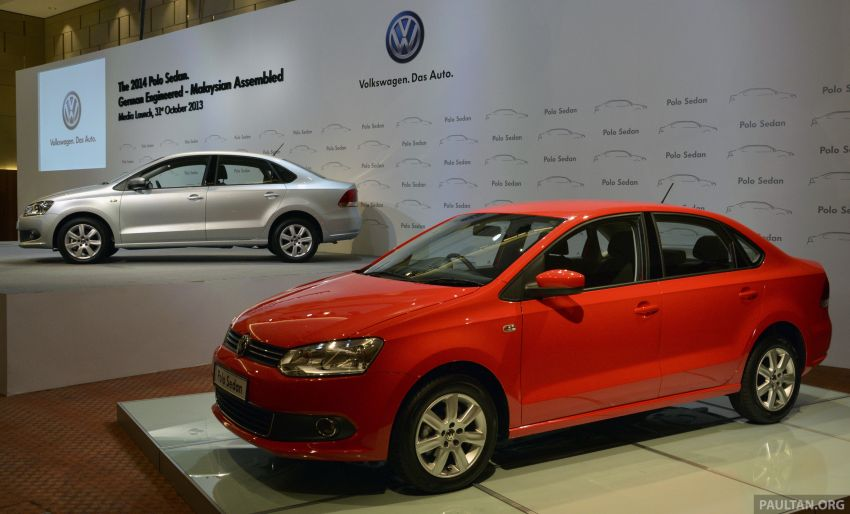 2014 Volkswagen Polo Sedan CKD launched – RM86k Image #207419