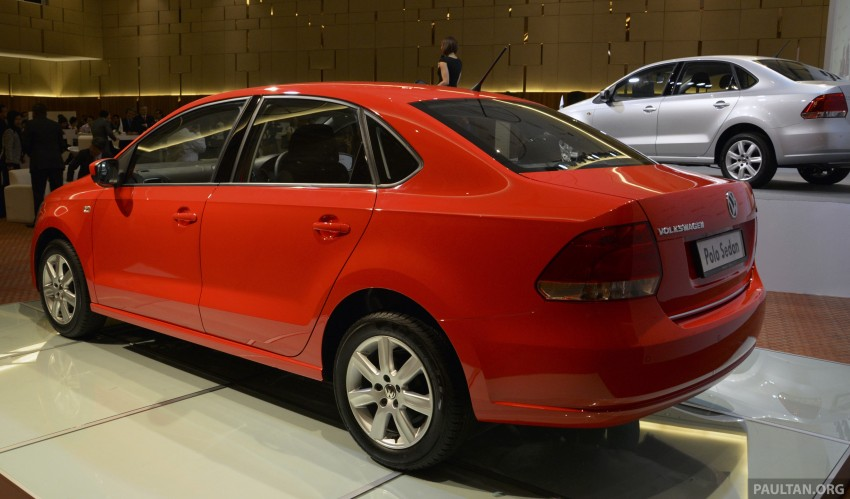 2014 Volkswagen Polo Sedan CKD launched – RM86k Image #207420