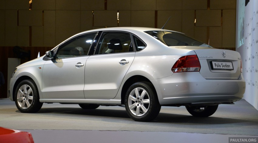 2014 Volkswagen Polo Sedan CKD launched – RM86k Image #207421