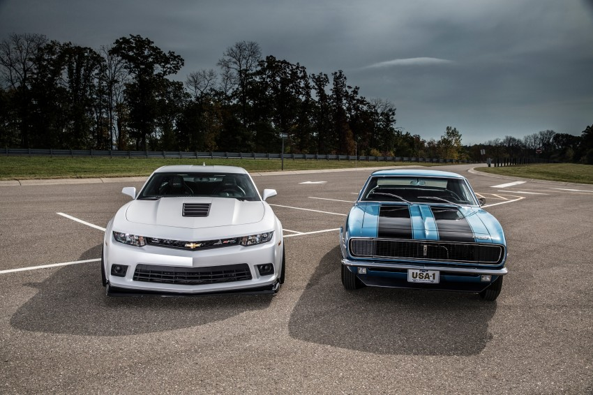 Chevrolet pits the Camaro Z/28 against the Mustang, and sets a Porsche 911-beating Nurburgring lap time Image #205109