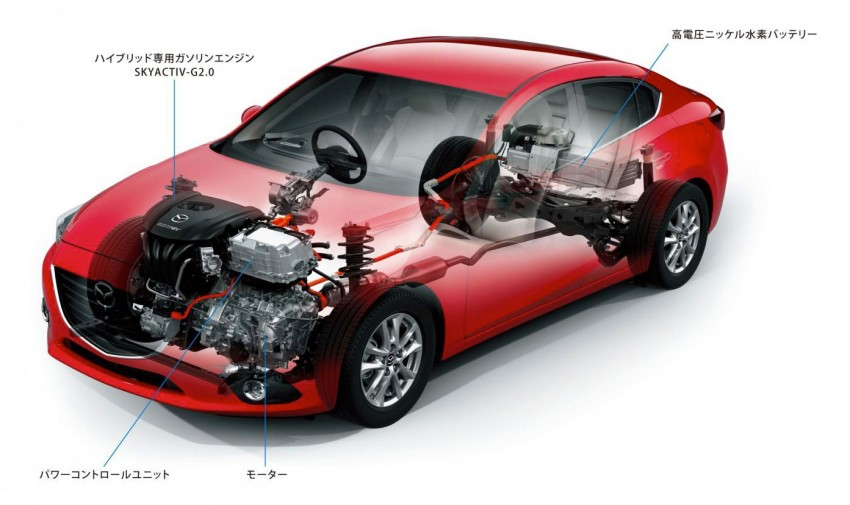 Mazda3 Hybrid launched in Japan, gets over 30 km/L Image #204599