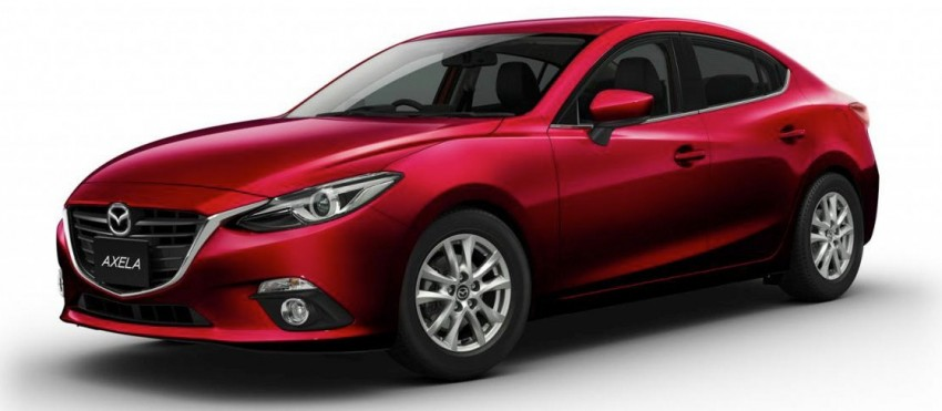 Mazda3 Hybrid launched in Japan, gets over 30 km/L Image #204600