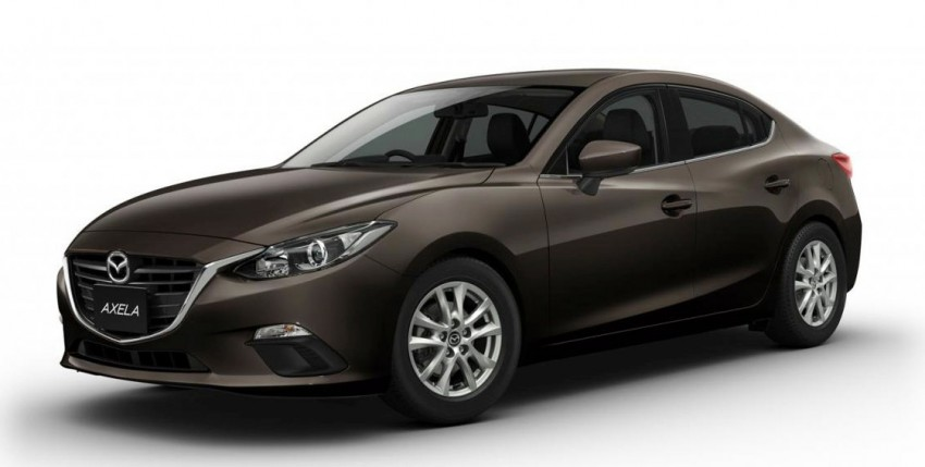 Mazda3 Hybrid launched in Japan, gets over 30 km/L Image #204602