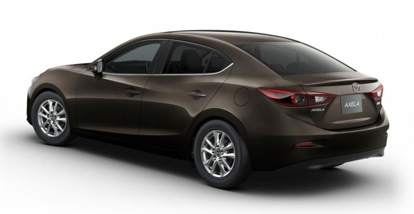 Mazda3 Hybrid launched in Japan, gets over 30 km/L Image #204603