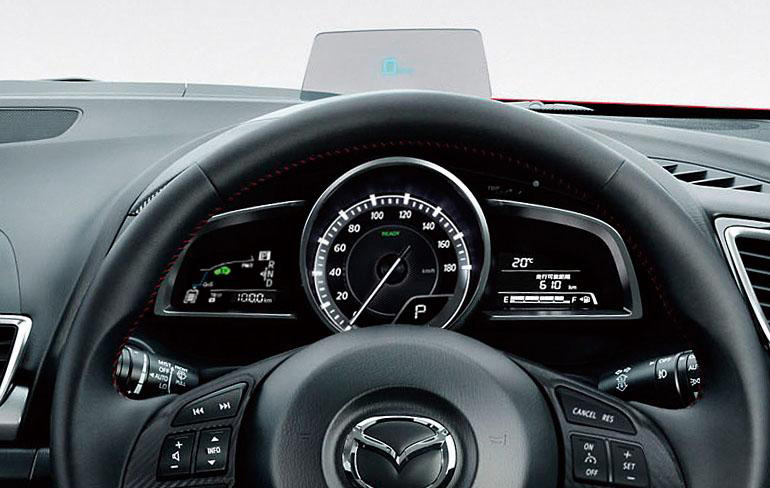 Mazda3 Hybrid launched in Japan, gets over 30 km/L Image #204609