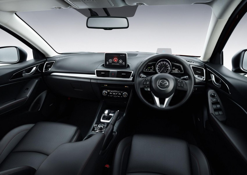 Mazda3 Hybrid launched in Japan, gets over 30 km/L Image #204611