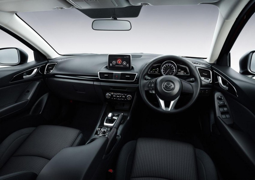 Mazda3 Hybrid launched in Japan, gets over 30 km/L Image #204614