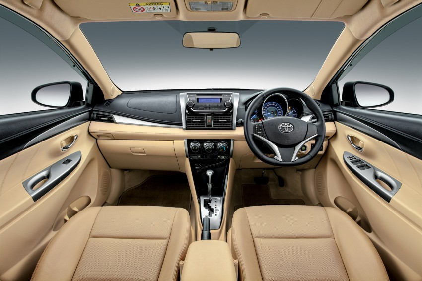 Toyota Vios 2018 Interior >> 2013 Toyota Vios officially launched in Malaysia – five variants, priced from RM73,200 to RM93 ...