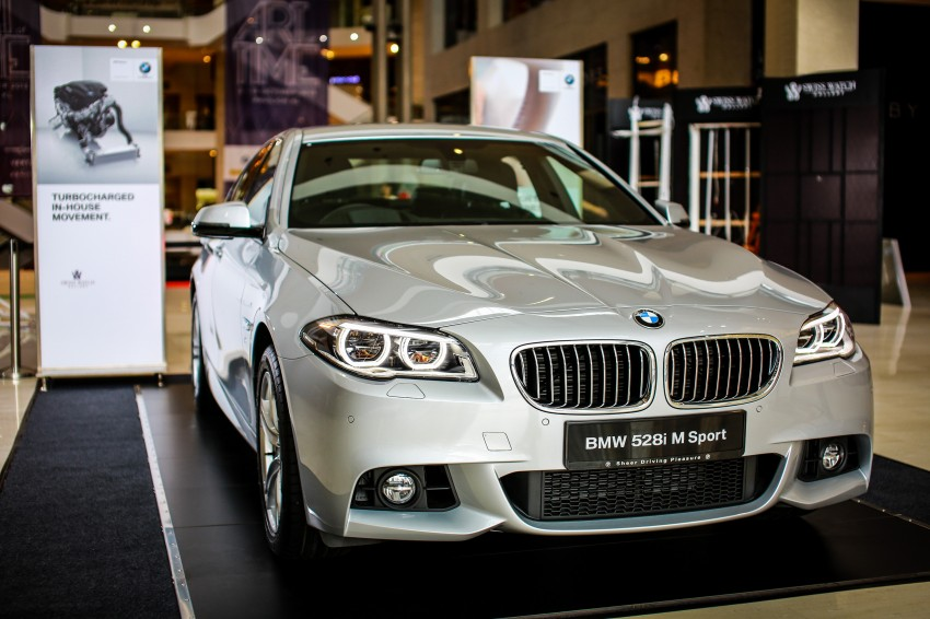 BMW 5 Series (F10) facelift introduced in Malaysia – 520i RM370k, 520d RM355k, 528i M Sport RM420k Image #202613