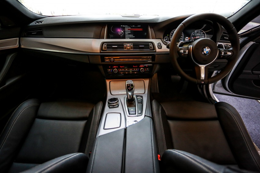 BMW 5 Series (F10) facelift introduced in Malaysia – 520i RM370k, 520d RM355k, 528i M Sport RM420k Image #202615