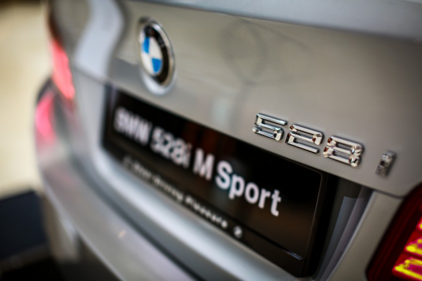 BMW 5 Series (F10) facelift introduced in Malaysia – 520i RM370k, 520d RM355k, 528i M Sport RM420k Image #202630