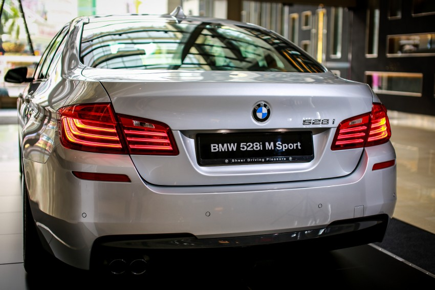 BMW 5 Series (F10) facelift introduced in Malaysia – 520i RM370k, 520d RM355k, 528i M Sport RM420k Image #202631