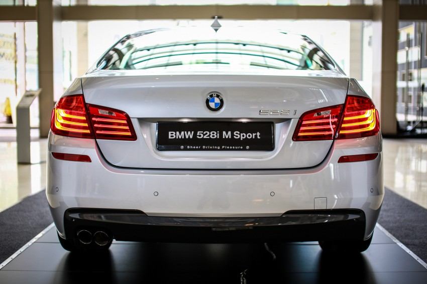 BMW 5 Series (F10) facelift introduced in Malaysia – 520i RM370k, 520d RM355k, 528i M Sport RM420k Image #202632