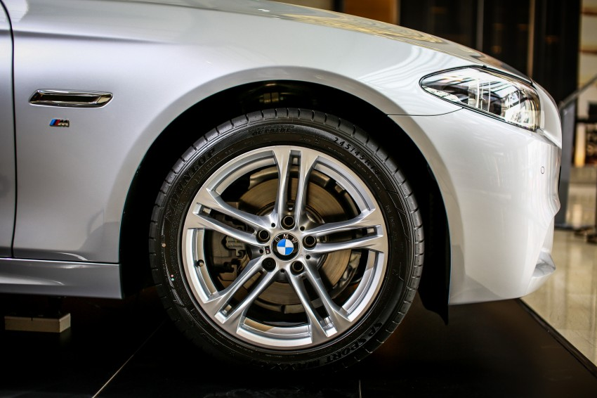 BMW 5 Series (F10) facelift introduced in Malaysia – 520i RM370k, 520d RM355k, 528i M Sport RM420k Image #202635