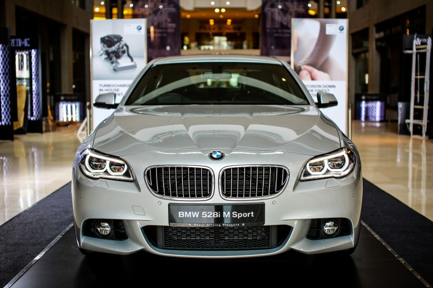 BMW 5 Series (F10) facelift introduced in Malaysia – 520i RM370k, 520d RM355k, 528i M Sport RM420k Image #202639